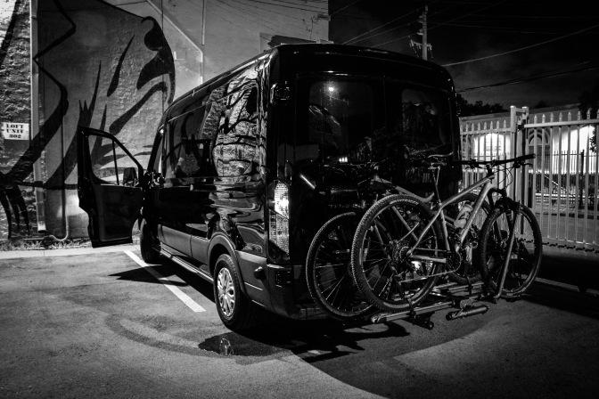 Van + Bikes